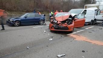 Unfall A2 vom 22.1.19