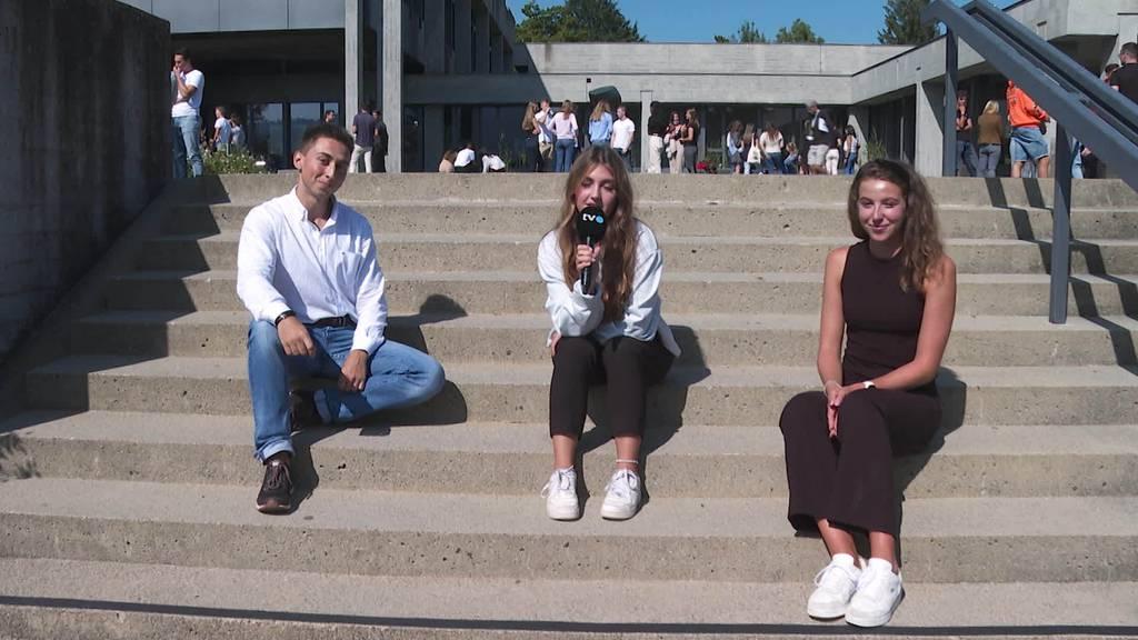 2000 neue Studenten: Der erste Tag an der HSG-Startwoche