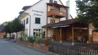 Bis Mitte August befindet sich die Verwaltung Schupfart im ehemaligen Restaurant Schwert. Archiv