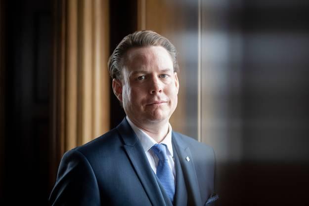 Yves Noël Balmer, Gesundheitsdirektor Appenzell Ausserrhoden