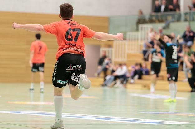 Mischa Wirthlin konnte für den TV Möhlin gleich mehrere Treffer erzielen.