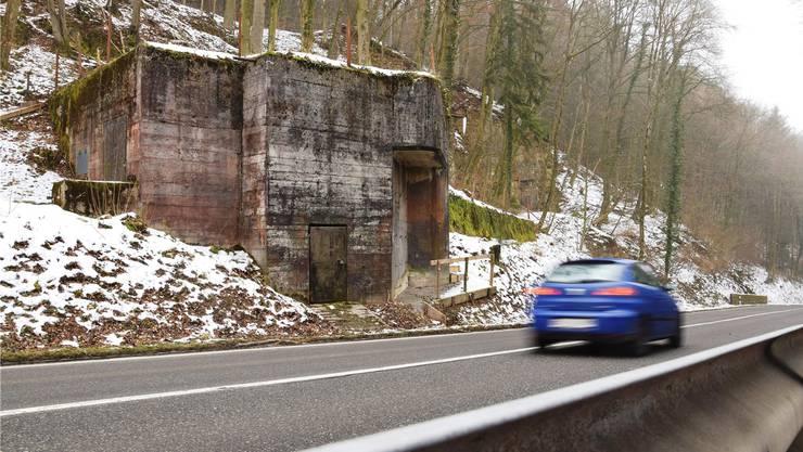 Einer der Bunker, den das Militär- und Festungsmuseum Full-Reuenthal erhalten will, befindet sich an der Bözbergstrasse bei Gallenkirch.
