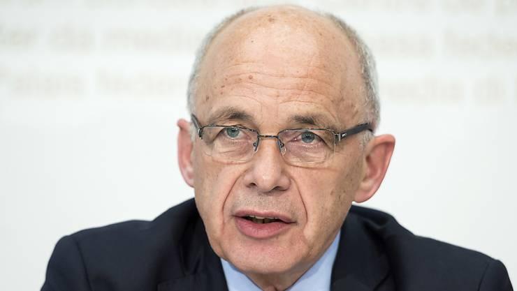 Finanzminister Ueli Maurer sprach vergangene Woche davon, mit einer Vorlage ein «ganz kleines Steuerproblem» zu lösen. (Archivbild)