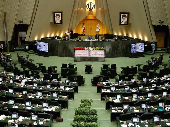 Blick ins Innere des iranischen Parlaments, wo es zu einem Anschlag kam (Archiv)