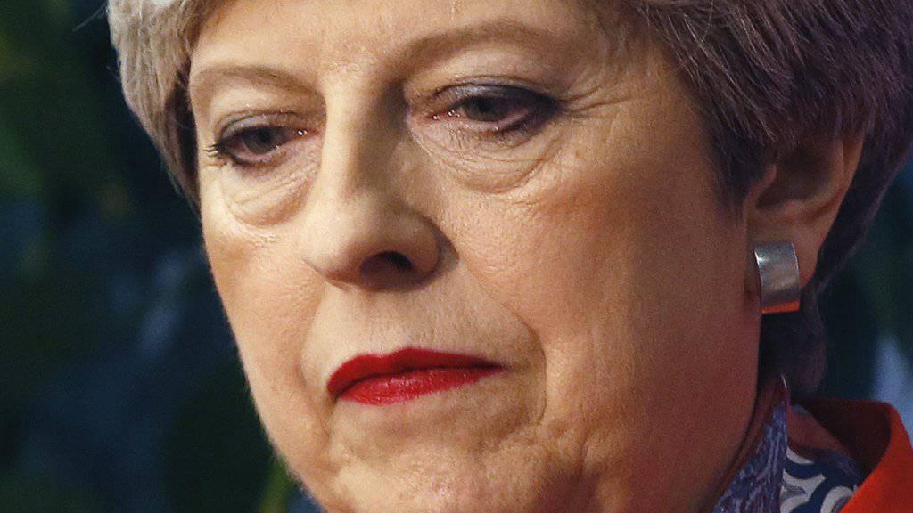 Die britische Premierministerin Theresa May hat am Freitag ihr Amt als Parteichefin der Konservativen offiziell abgeben. (Archivbild)