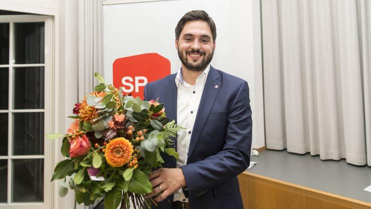 Die Aargauer Ständeratskandidaten: Cédric Wermuth (SP)...