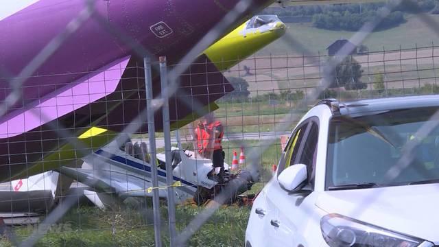 Flughafen Belpmoos: Flugschüler baut Unfall mit Kleinflugzeug