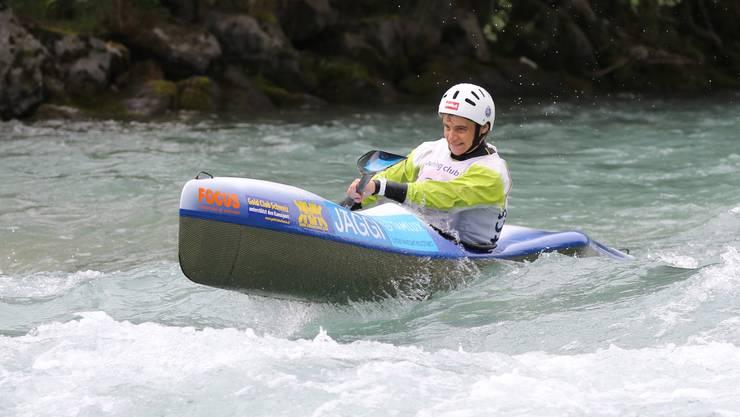 Sabine Eichenberger sicherte sich in Banja Luka die Bronzemedaille.