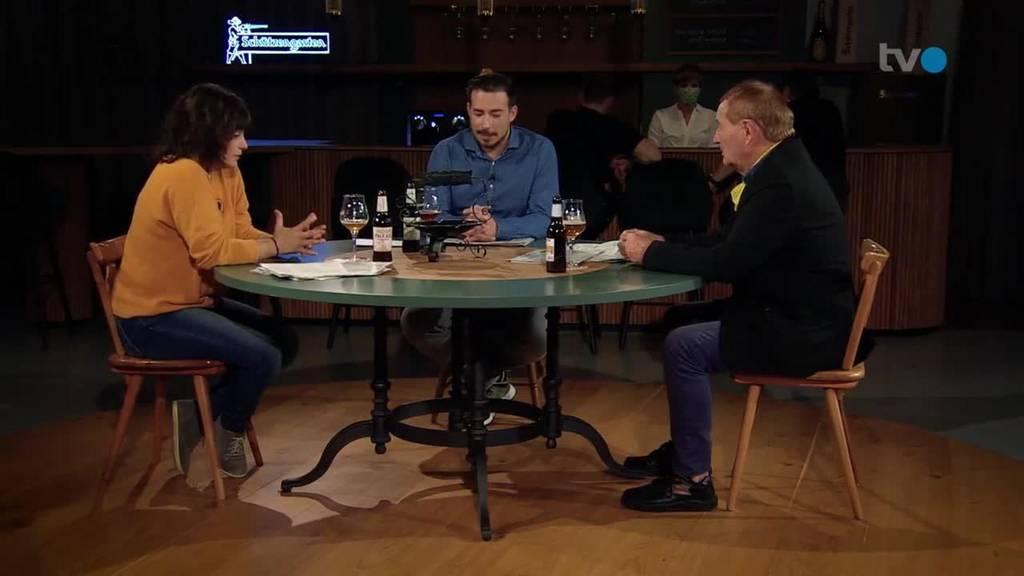 Am Stammtisch mit Katerina Mistakidis-Schneider und Reto Antenen