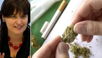 Marina Carobbio (l.) will den Drogenkonsum entkriminalisieren. (Archiv/Symbolbild)