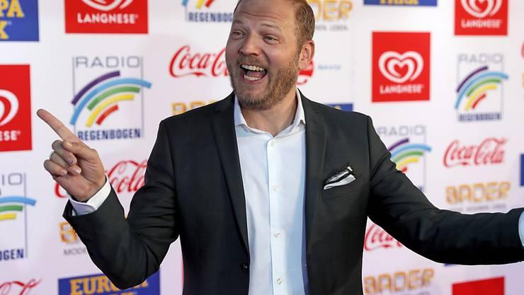 Dem deutschen Comedian Mario Barth ist das Lächeln eingefroren: Tickets für seine neueste Show verkaufen sich schleppend und werden bereits im Sonderangebot verschleudert. (Archivbild)