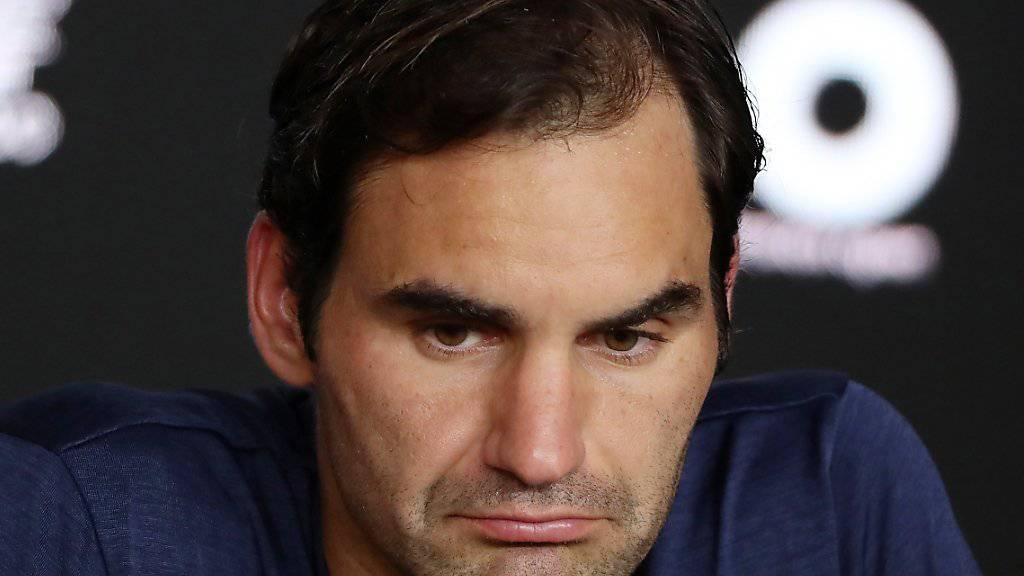 Roger Federer ist nach dem Achtelfinal-Out in Melbourne nicht mehr in den Top 5 der ATP-Weltrangliste