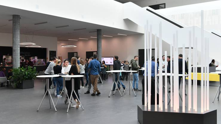 Die Fachhochschule FHNW Olten stellt am Forum eine neue Hörtechnik vor. (Archivbild)