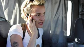 Ex-Femen-Aktivistin Amina Sboui (Archiv)