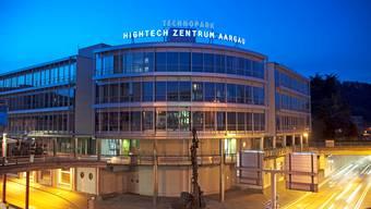 Kernstück des Programms Hightech Aargau: Das Hightech-Zentrum in Brugg.