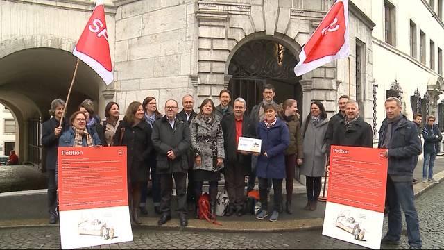 Petition gegen Krankenkassenprämienverbilligung