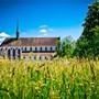 Die Klosterkirche Königsfelden. Hier beginnt die Geschichte von Henmann von Mülinen, der von der Äbtissin Elisabeth einen verhängnisvollen Auftrag erhält. sandra Ardizzone