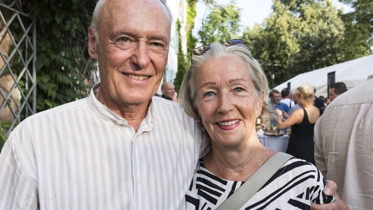 Auch im Rentenalter noch ein schönes (Politiker-)Paar Remo und Doris Gysin (beide SP).