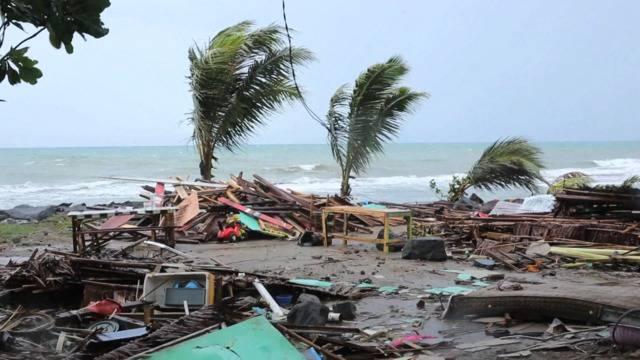 Riesen-Flutwelle in Indonesien: «Sie kam aus dem Nichts!»