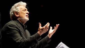 Plácido Domingo tritt heute weniger in Opern als in Konzerten auf (auf dem Bild am Peralada 's Festival 2018).