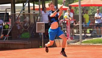 Captain Patrik Hartmeier gewann mit seinem NLB-Team des TC Teufenthal zum Auftakt auswärts gegen Büsingen mit 5:4.