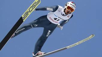 Killian Peier kann in Sapporo die Leistung vom Vortag nicht wiederholen