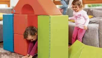 Dank Regeln meistert Familie Conte mit ihren drei Töchtern die Situation zu Hause.