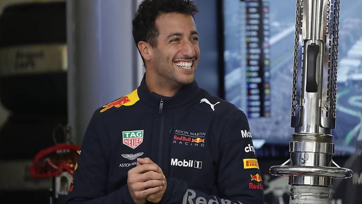 Daniel Ricciardo hat gut lachen nach seiner 3. Pole-Position seiner Karriere