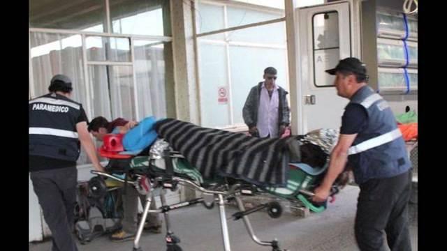 Natalie Rickli verletzt sich bei Wanderunfall in Chile (Tele M1, 5.1.2015)