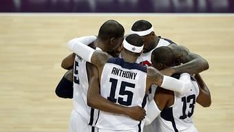 Gold für die Basketball-Stars der USA