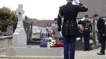Generals-Grab: de Gaulles letzte Ruhestätte in Frankreich wird rund um die Uhr gefilmt. (Archivbild)