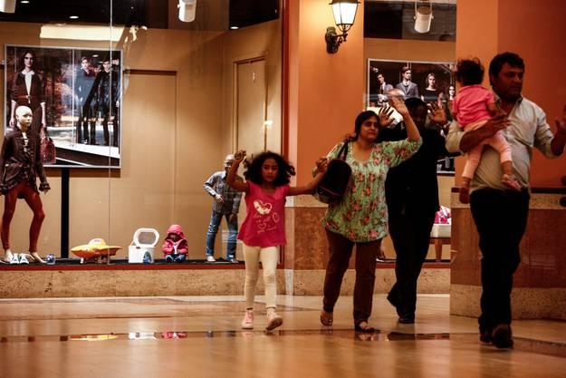 Geiseldrama in Einkaufszentrum in Nairobi