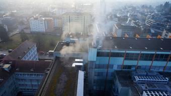 Am Sonntagmorgen brannte in der Eta in Grenchen die Galvanikabteilung komplett aus