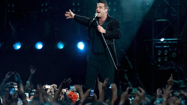 Diesen Sommer wagt sich Robbie Williams wieder auf Tour