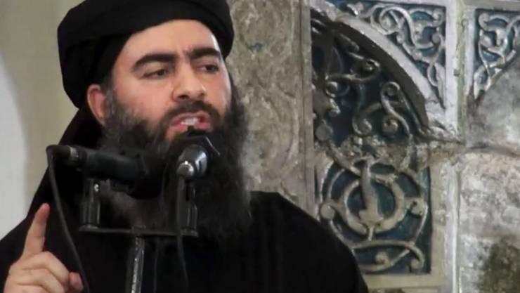 «Habt Geduld, denn Gott der Allmächtige ist mit euch.» Abu Bakr al-Bagdadi, selbst ernannter «Kalif» des Islamischen Staats.