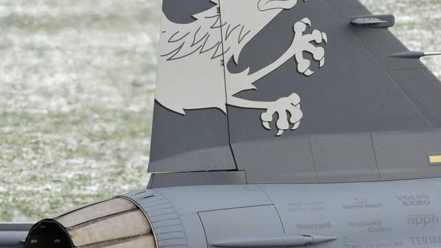 Saab sucht langfristige Partner für Gripen-Programm (Archiv)