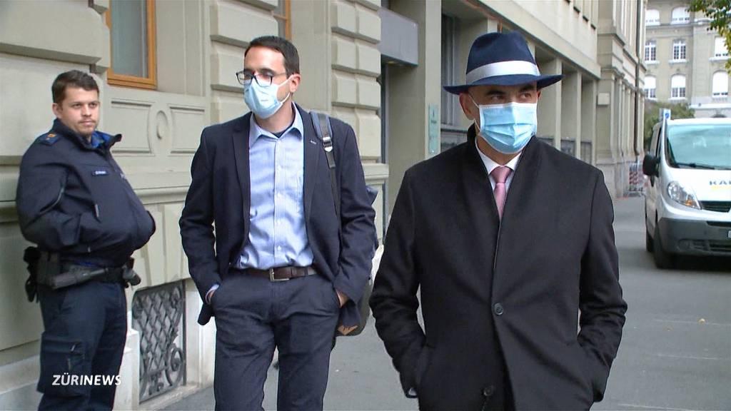 Alain Berset von einer Frau erpresst – 100'000 Franken gefordert