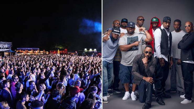 Das «Touch the air»-Festival Wohlen konnte für das Festival 2015 die Wu-Tang-Clan verpflichten