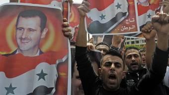 Proteste gegen Assad in Beirut