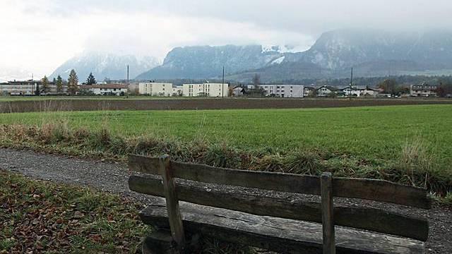 Das Gelände, auf dem das Stadion entstehen soll (Archiv)