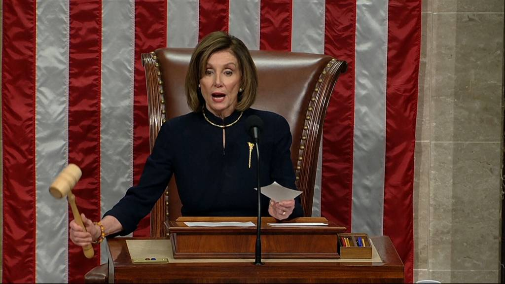 US-Repräsentantenhaus eröffnet Impeachment-Verfahren gegen Trump