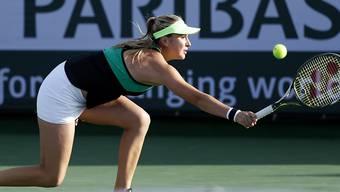 Der nächste Schritt aus der Krise? Belinda Bencic gewann in Indian Wells ihr erstes Spiel auf der WTA Tour in diesem Jahr