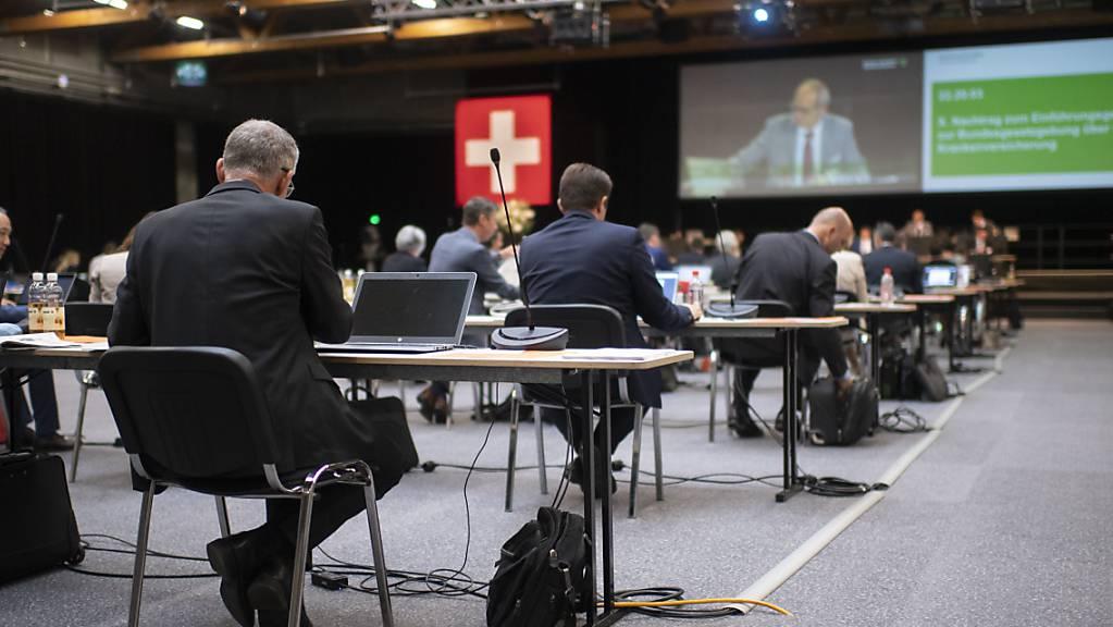 Drei Mitglieder des St. Galler Kantonsrats wollen den Kirchen mit einer Motion einen Maulkorb verpassen. (Archivbild)