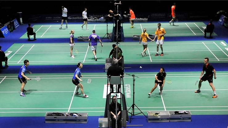 Angekommen: Die Swiss Open in Basel haben sich in der nationalen Sportszene als Grossanlass etabliert. Keystone
