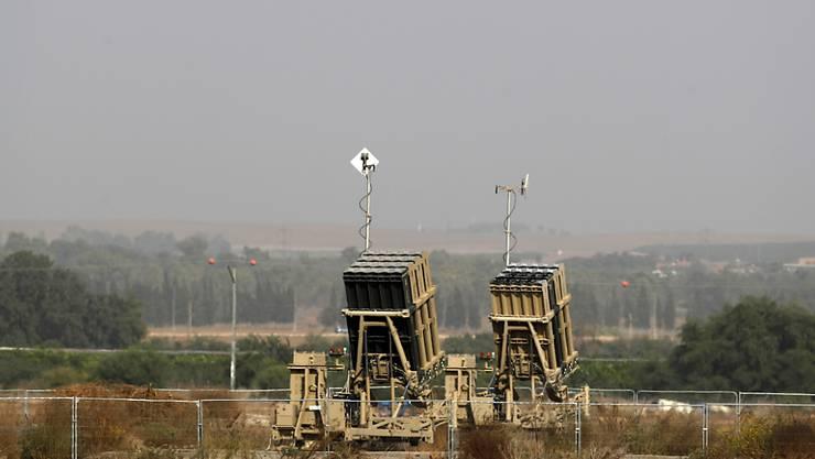 Das Raketenabwehrsystem Israels, Iron Dome, hat am Dienstagmorgen vier Geschosse aus Syrien abgewehrt. (Archivbild)