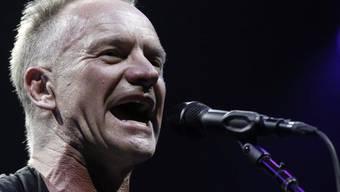Legt neue Platte vor: Sänger Sting (Archiv)