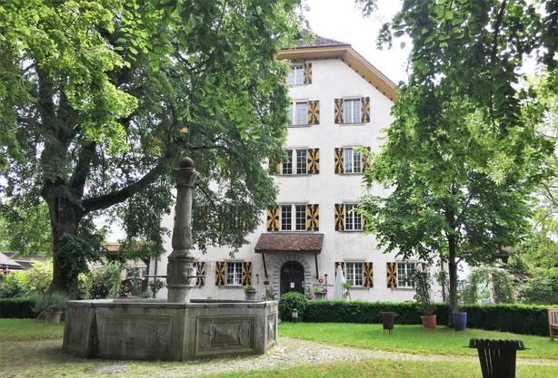Idyllisch - der Schlosshof.