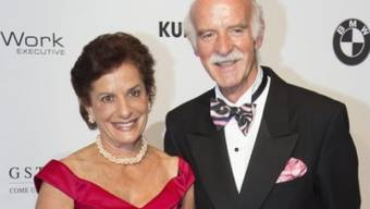 Anton Mosimann mit Frau Kathrin an der Gala de Berne 2013 (Archiv)