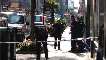 Ein Mann schiesst beim Empire State Building auf mehrere Menschen: Mindestens zwei Tote.