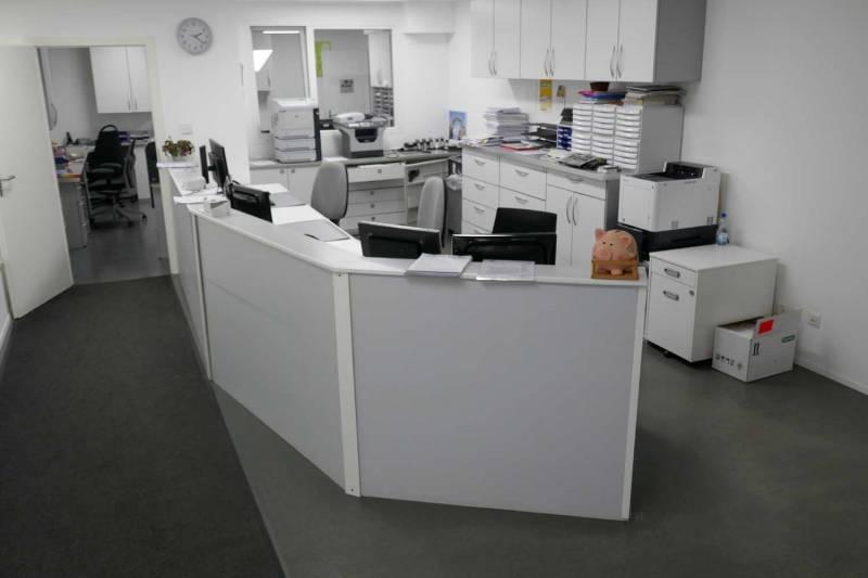 Ärztezentrum Mutschellen vor der Liquidation (© ZVG)